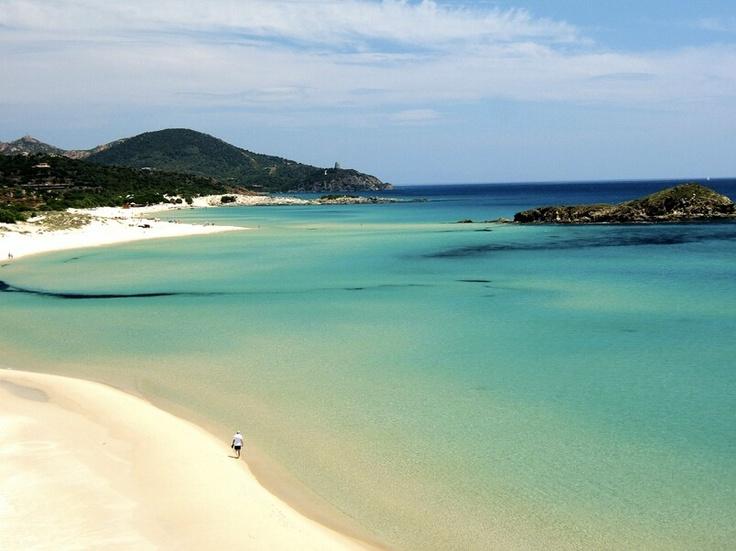 Tuerredda beach, Sardinia