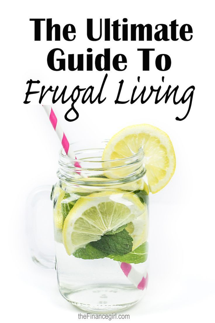 The ultimate guide to frugal living. How to live frugally (without being…