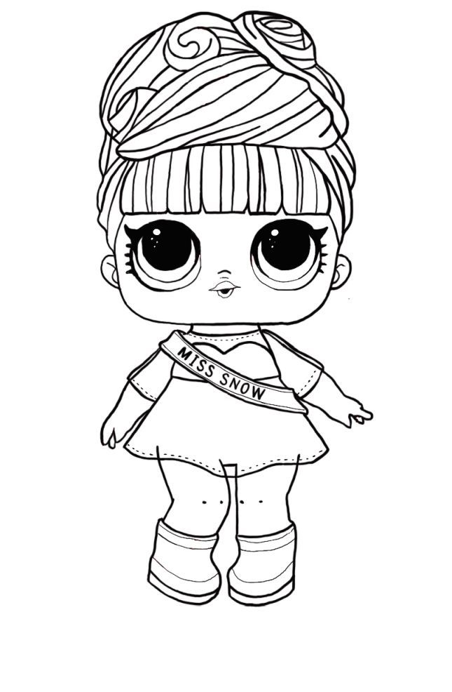 Lol Surprise Coloring Page Barbie Coloring Pages Cool Coloring Pages Star Coloring Pages
