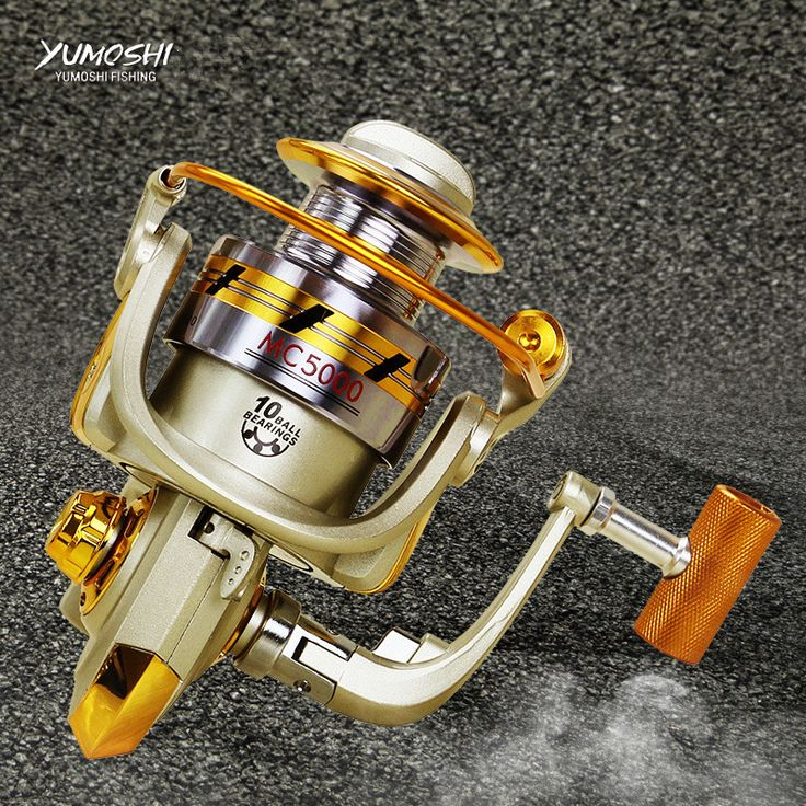 2017 new design MC Series Metal rocker arm fishing line Wheel device electric fish reel fish automatic line fishing vessel pesca #Affiliate