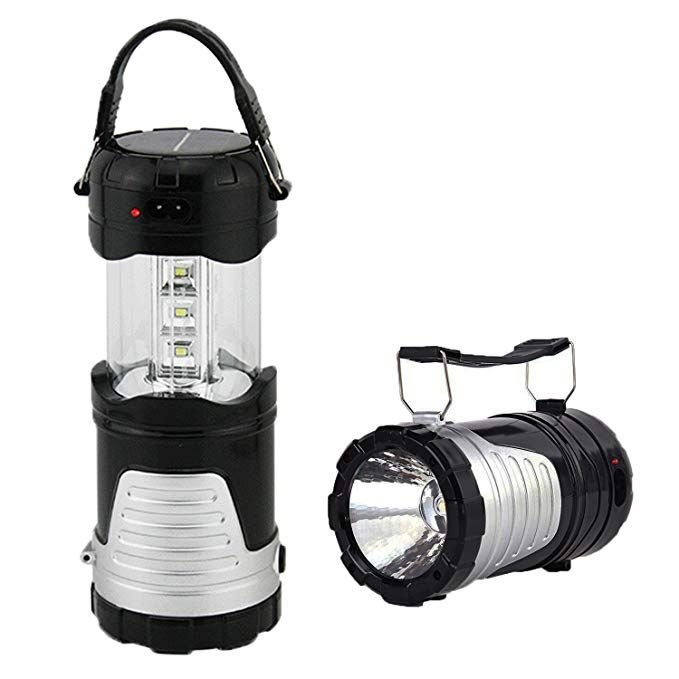 Operkey Led Camping Lantern Portable Outdoor Flashlight With Solar Panel Camping Gear Handheld Flashligh Outdoor Flashlight Led Camping Lantern Camping Lights