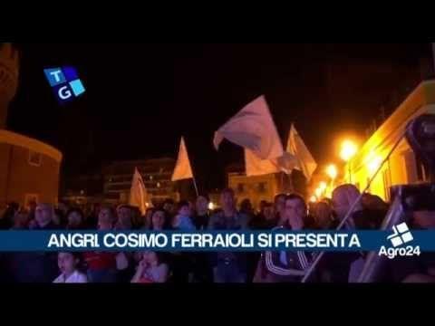 Angri. Salerno. Verso il voto 2015. Cosimo Ferraioli si presenta in Piazza