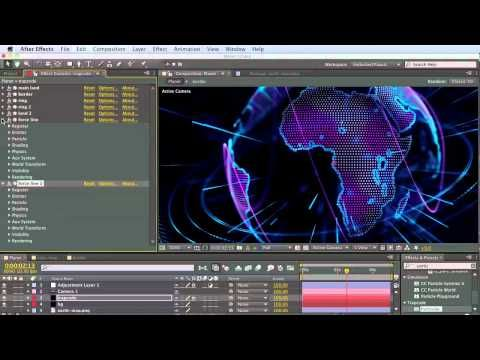 ▶ Tutorial 1: Create Trapcode Planet from scratch step-by-step - YouTube