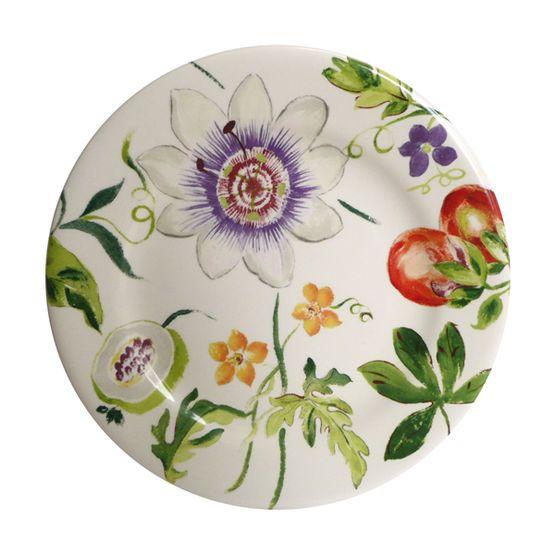 Gien Passiflore Dinnerware | Artedona.com