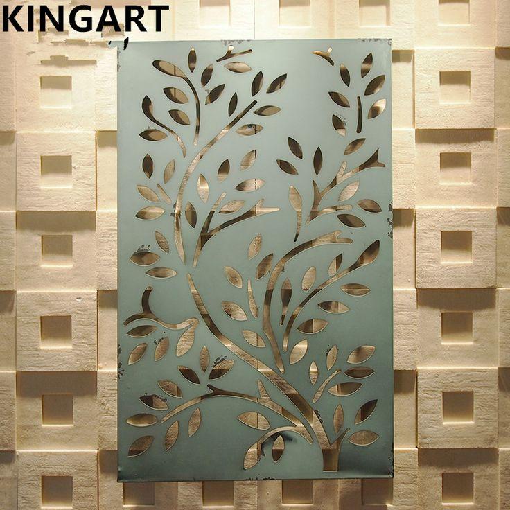 """Kingart ретро декор стен античная железной стене искусство украшения дома налет 32 """" на 20 """" купить на AliExpress"""