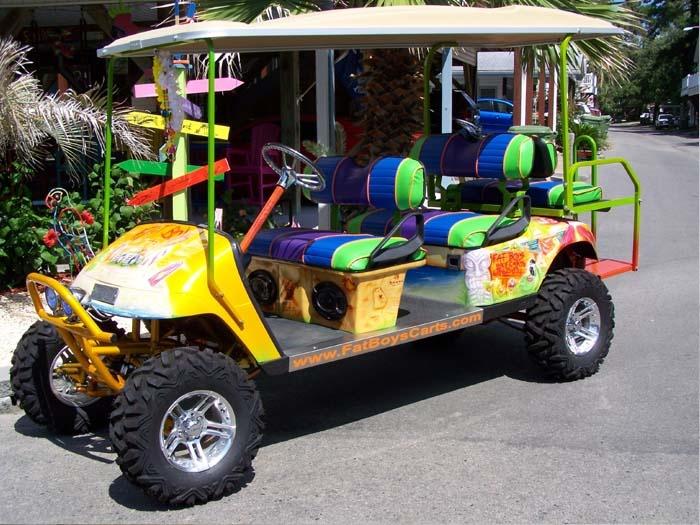 Custom Golf Carts -- Fat Boy golf cart