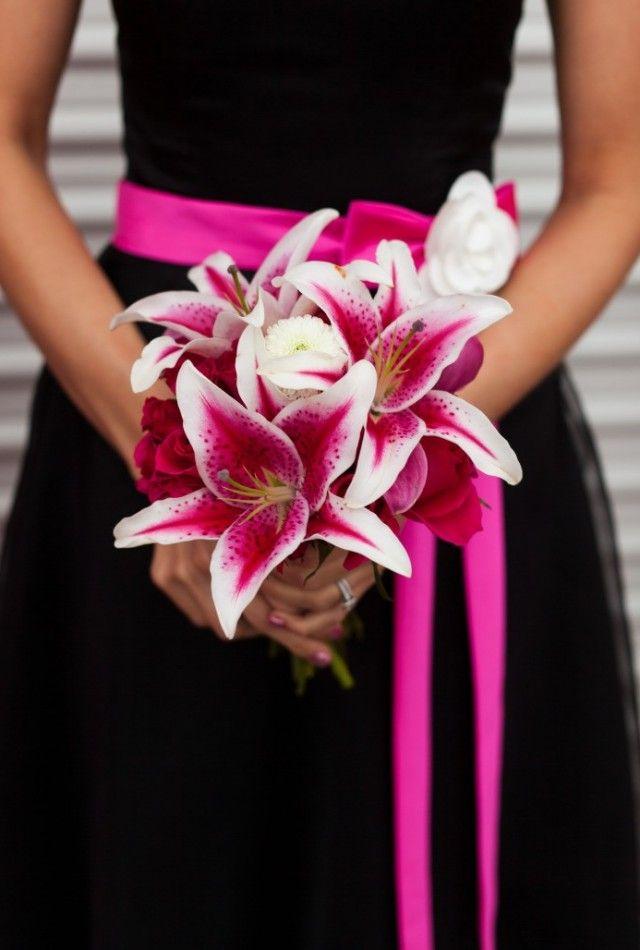Kleurenthema zwart, wit en roze