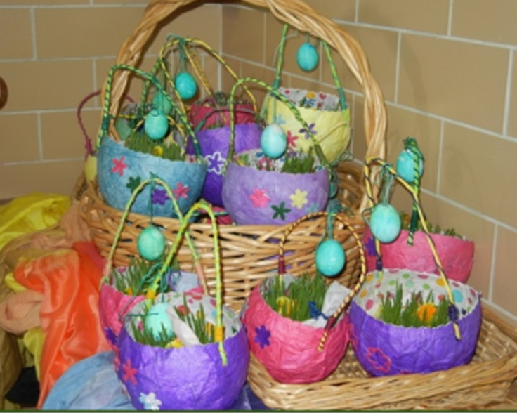 71 best first grade easter images on pinterest easter bunny cute idea for daycare could use half of a milk gallon jug cover with tissue then negle Gallery