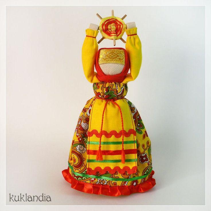 Домашняя Масленица - кукла, Масленица, кукла масленица, домашняя, домашняя масленица, весна, солнце