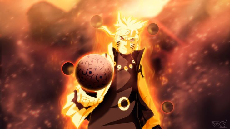 uzumaki naruto 9 tailed beast mode anime. hd 1920x1080 1080p wallpaper ...