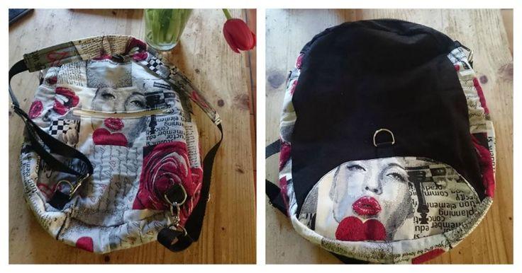 Sacs à dos transformables Limbo cousus par Sylvia - Patron couture Sacôtin