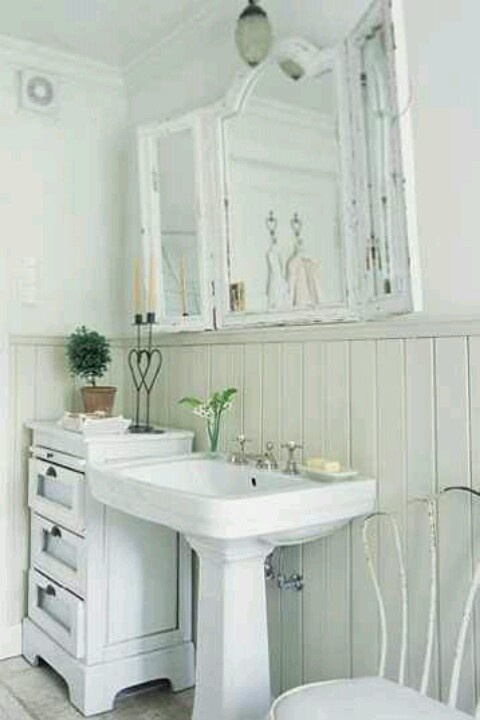 687 best shabby chic bathrooms images on pinterest bathroom