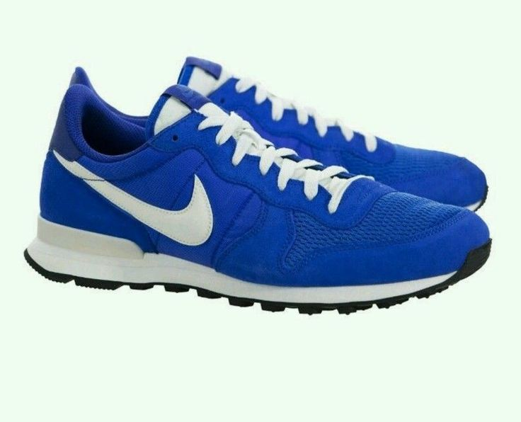 NIKE NEW INTERNATIONALIST MEN'S SHOES RUNNING TRAINING SNEAKERS BLUE #Nike #AthleticSneakers