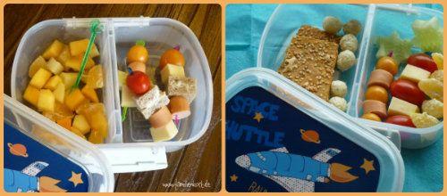 Kindergartenfrühstück, Brotdose Finlix, gesundes Frühstück