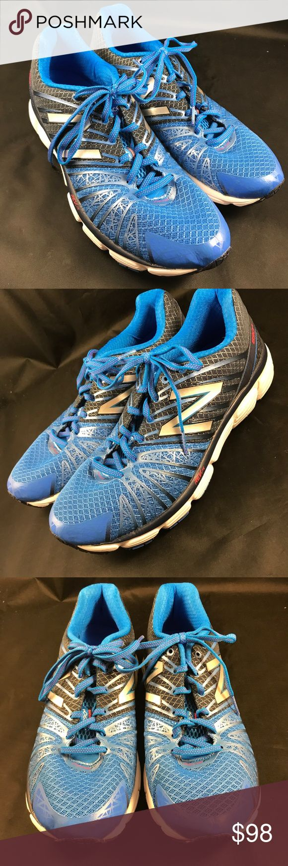NEW BALANCE Revlite 890v5 Blue Mens 10 D New Balance Light Weight Men's Running Course REVLITE 890v5 M890BB5 Blue 10 Mint condition worn once New Balance Shoes Athletic Shoes