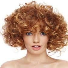 Risultati immagini per tagli per capelli ricci con frangetta