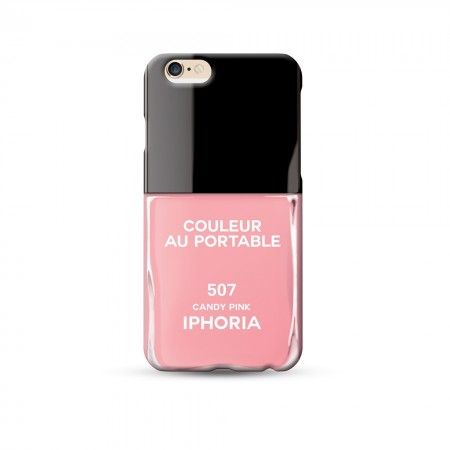 Etui na iPhone 6 IPHORIA COULEUR AU PORTABLE CANDY PINK IPHONE 6 www.bag-a-porter.pl #iphone #cover #fashion