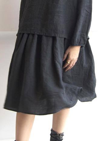 100% linen skirt , shirt