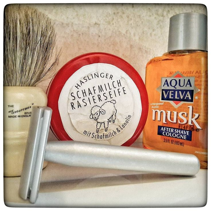 April 30th 2017 - Shave of the day  #Raw safety razor by #Standardrazors (USA)    #Haslinger #Schafmilch shaving soap (GER)    #Kai stainless steel blade (JPN)    #AquaVelva #musk #aftershave (USA)    #Vulfix 404 #boar and #badger shaving brush (UK)    #wetshaving #shaveoftheday #toiletries #shavelikeaman #shavingculture #thebigshave #classicshave #derazor #vintageshave #worldshave #safetyrazor #vintage #like4like #instagood #photography #perfume #perfum #духи