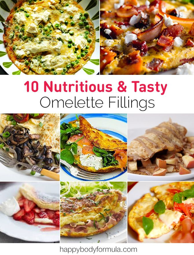 Let's talk about stepping up your omelette game with these 10 nutritious and tasty omelette fillings  and ideas.