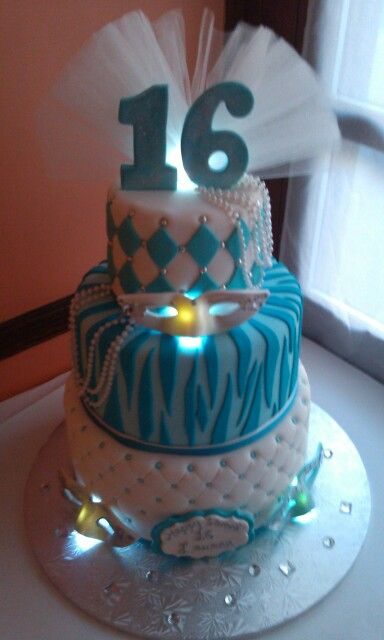 Sweet K Cake Design : 17 Best images about Masquerade cakes on Pinterest ...