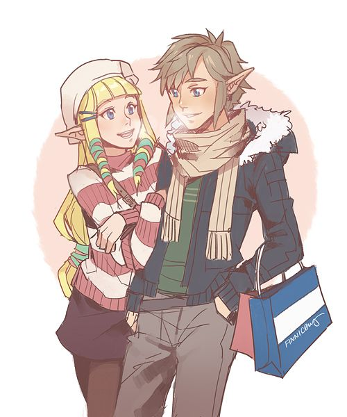 SS!Zelink forever >w< Winter fashion is my favorite of the year, with all the cute sweaters, coats, scarves, hats, and boots!!  Hope everyone is having a warm and safe holiday weekend~