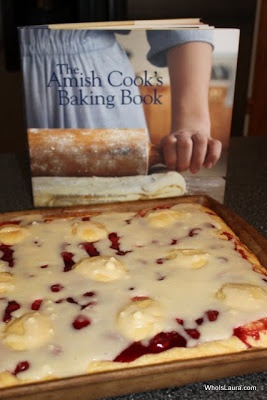 Amish Cook's Cherry Coffeecake!!  This is AWESOME!!!!!