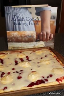 Amish Cook's Cherry Coffeecake