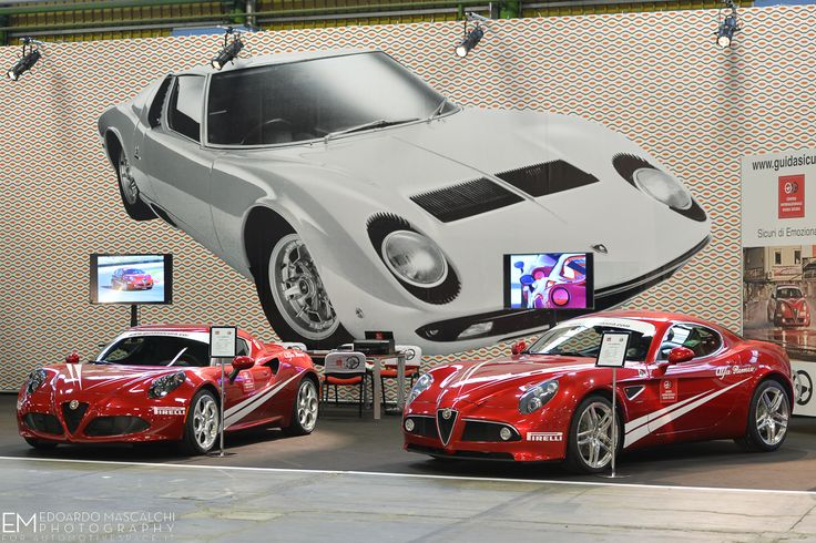 Alfa Romeo 4C e 8C