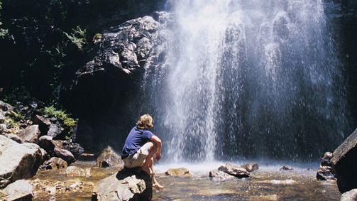 Corryong, High Country, Victoria, Australia-Bluff Falls