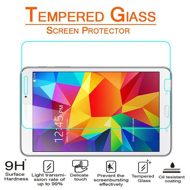 SAMSUNG GALAXY TAB 4 8.0 SCREEN PROTECTOR, PREMIUM TEMPERED GLASS SCREEN PROTECTOR   #tabletgadgets #tabletaccessories   www.kuteckusa.com.