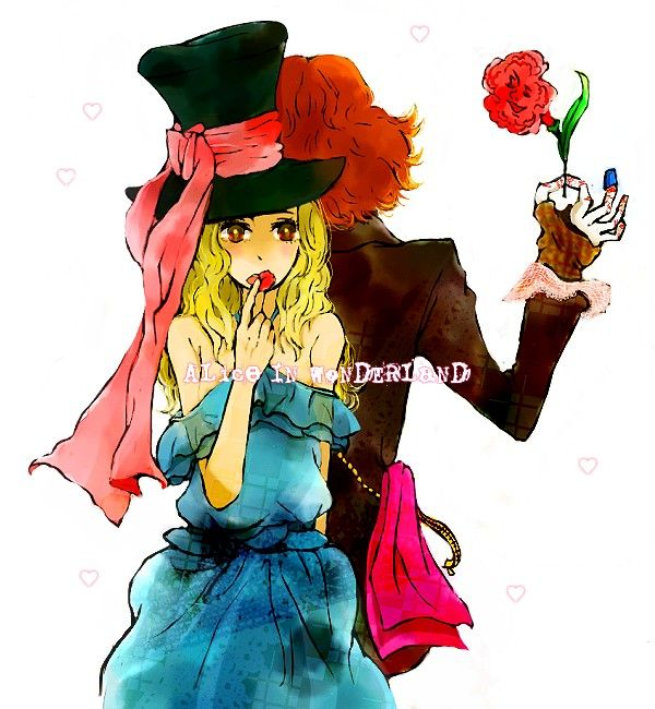 Tags: Anime, Alice In Wonderland, Mad Hatter, Alice (Alice In Wonderland), Alice in Wonderland (2010 film)