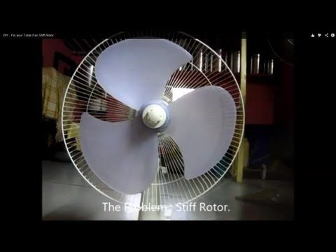 DIY - Repair your Table Fan - YouTube