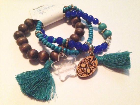 CATRINA Handmade bracelets.  HANDMADE BRACELETS por SisStyles1725