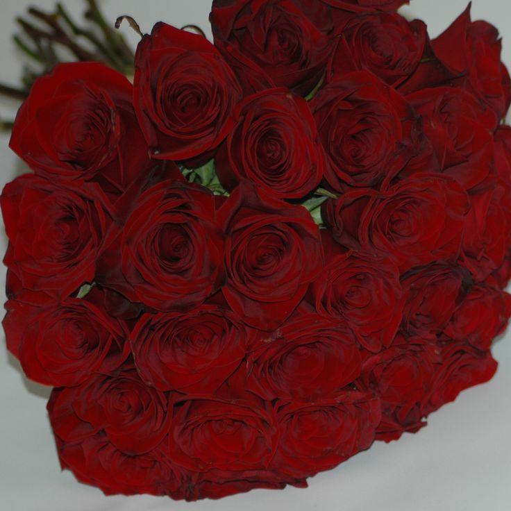 30 red roses ....... Yum!!