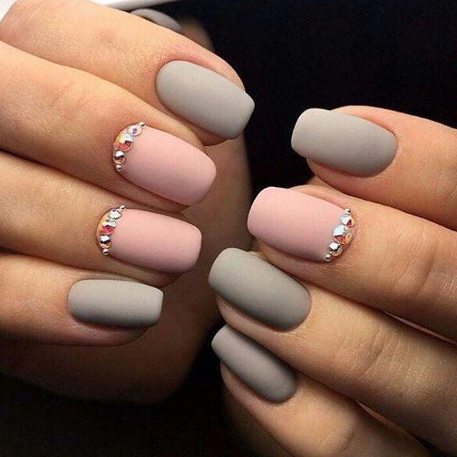 1000+ ideas about Gray Nails on Pinterest | Nails, Grey nail ...