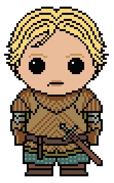 (10) Name: 'Embroidery : GoT: Brienne of Tarth