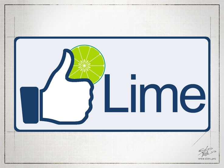 Lime - Playing with logo    [no copyright infringement intended]