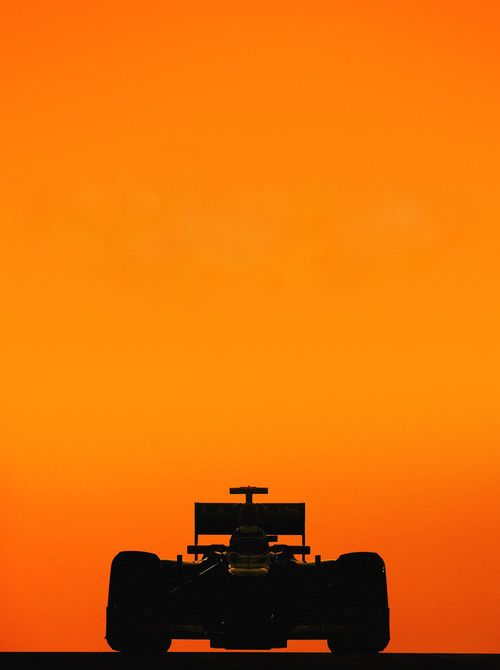 Driving off into the #sunset #f1
