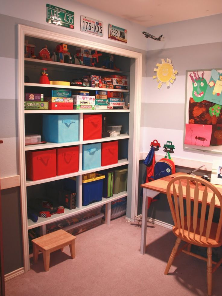 Could I do this with James closet?!? would it help?!?