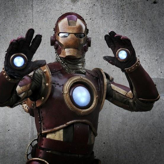 Steampunk Iron Man Costume Wins Marvel Ny Comiccon Contest