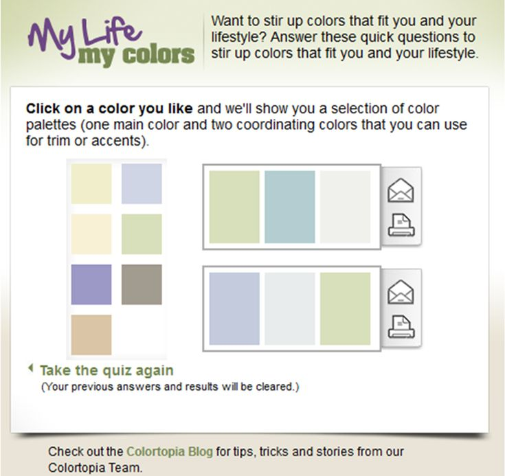 120 best color inspiration images on pinterest fused for Painting inspiration generator