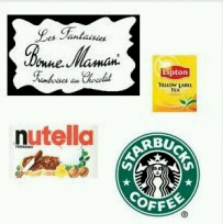 This is a graphic of Universal Mini Nutella Label Template