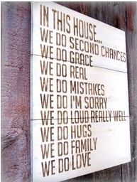 family first, always.: Wall Art, Crossword Puzzles, Quote, Second Chances, Front Doors, Houses Rules, In This Houses, Families Rules, Families Mottos