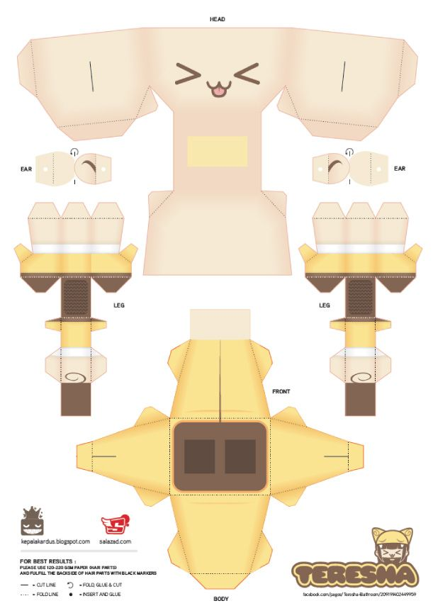 Best Paper Craft Images On   Paper Toys Paper