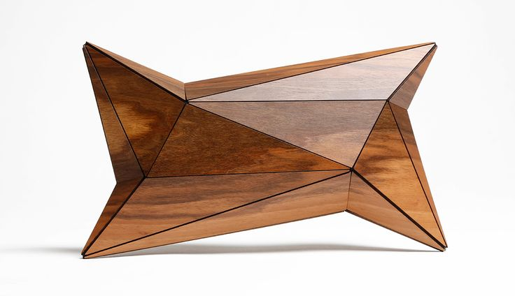 Vega Zaishi Wang  Wooden Clutch