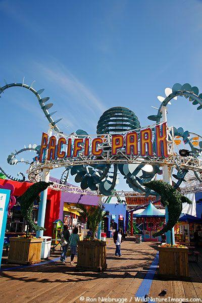 Pacific Park Photos, Santa Monica Pier, California