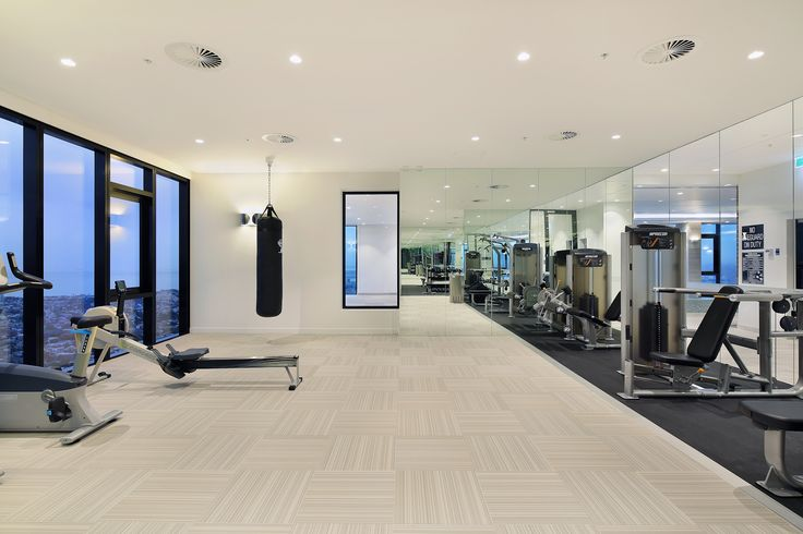 Get fit in Platinum Tower's level 52 fully equipped gym. Enjoy amazing views of Albert Park and Port Phillip Bay while you exercise