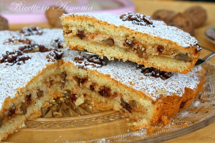 Torta autunnale noci e ricotta! | Ricette in Armonia