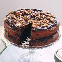 receptenvandaag dubbele brownietaart met amandelen